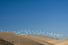 Windfarm in action Stock Photos