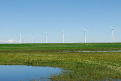 Windfarm Royalty Free Stock Photo