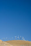 Windfarm vertical Royalty Free Stock Photos