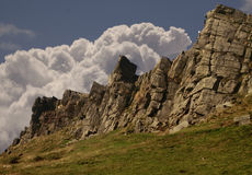 Windgather Rocks Royalty Free Stock Photography