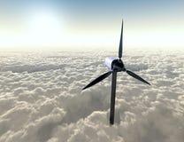 Windgenerator Vektor Abbildung
