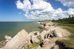 Windgenerator Royalty-vrije Stock Foto