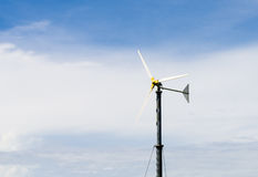 Windgenerator stockbild