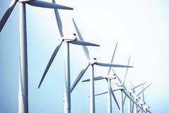 Windgenerator Stockfoto
