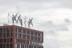 Windgeneratoren Stockfotos