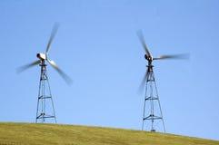 Windgeneratoren in Kalifornien Lizenzfreies Stockfoto