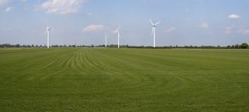 Windgenerators Stock Afbeelding