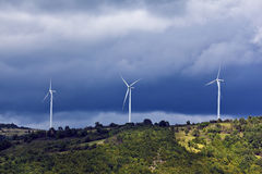 Windgenerators 3 Stock Afbeelding