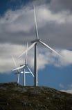 Windgenerators Royalty-vrije Stock Foto's