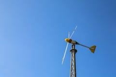 Windgeneratorturbinen Lizenzfreies Stockbild