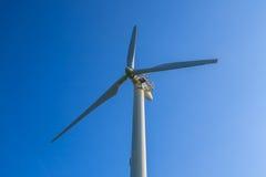 Windgeneratorturbinen Stockfoto