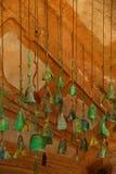 Windglockenspiele Stockfoto