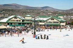 Windham Mountain Ski Fotografía de archivo libre de regalías