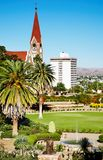 Windhoek capital of Namibia. Windhoek city capital of Namibia royalty free stock images