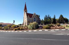 Windhoek Christuskirche Stock Photos