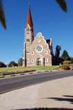 Windhoek Christuskirche Stock Image