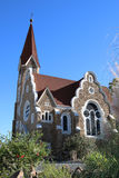 Windhoek Christuskirche Royalty Free Stock Photos