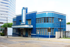 WindhondBusstation in Jackson Mississippi Stock Foto's