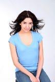 Windiger Latina Lizenzfreies Stockfoto