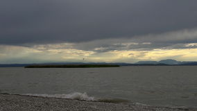 Windiger Tag in Burgenland Lizenzfreies Stockbild