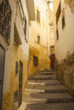 Winding alley in Morocco Royalty Free Stock Photography