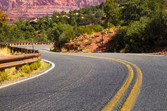 Winding Arizona Road Stock Images