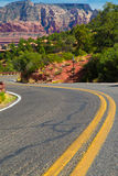 Winding Arizona Road Royalty Free Stock Photos