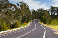 Winding Australian Road Stock Photos