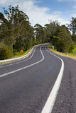 Winding Australian Road Royalty Free Stock Photos
