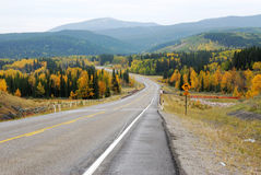 Winding country road Stock Photos
