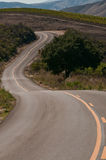 Winding Countty Road Royalty Free Stock Photography