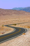 Winding Death Valley Road Stock Photos