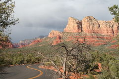 Road to Sedona Royalty Free Stock Photos
