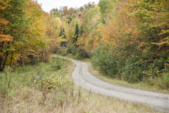 Winding dirt road Stock Photography