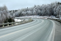 Winding Highway Stock Photography