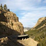 Winding highway. Stock Photos