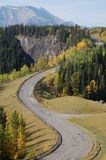 Winding highway Stock Photo