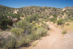 Winding Hiking Trail Royalty Free Stock Photography