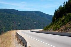 Winding mountain highway Royalty Free Stock Image