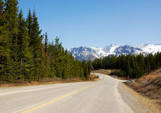 Winding mountain road Royalty Free Stock Images