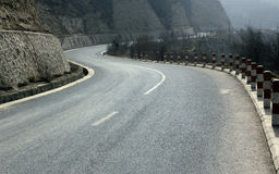 The winding mountain road Royalty Free Stock Photography