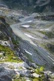 Winding mountain road Stock Image