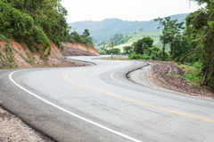 Winding Mountain Road Royalty Free Stock Image