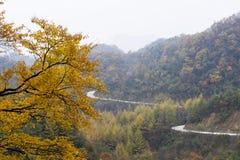 A winding mountain road Stock Photos