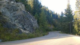 Winding mountain road Stock Photography