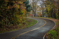 Winding Moutain Road Stock Photography