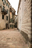 Winding Narrow City Streets Royalty Free Stock Photo