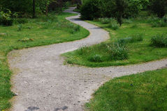 Winding path Royalty Free Stock Photography