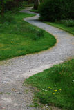 Winding path Royalty Free Stock Images