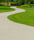 Winding path through Royalty Free Stock Image
